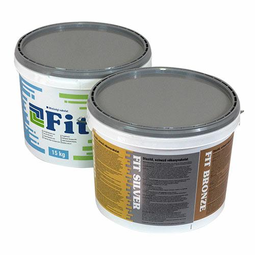 Fit Silver 1,5 mm-es díszítő, színező vakolat