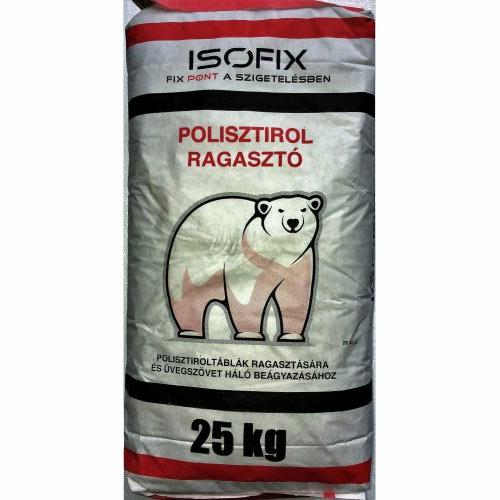 Isofix polisztirol ragasztó